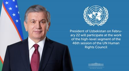 President of Uzbekistan to Speak at the Session of the United Nations Human Rights Council