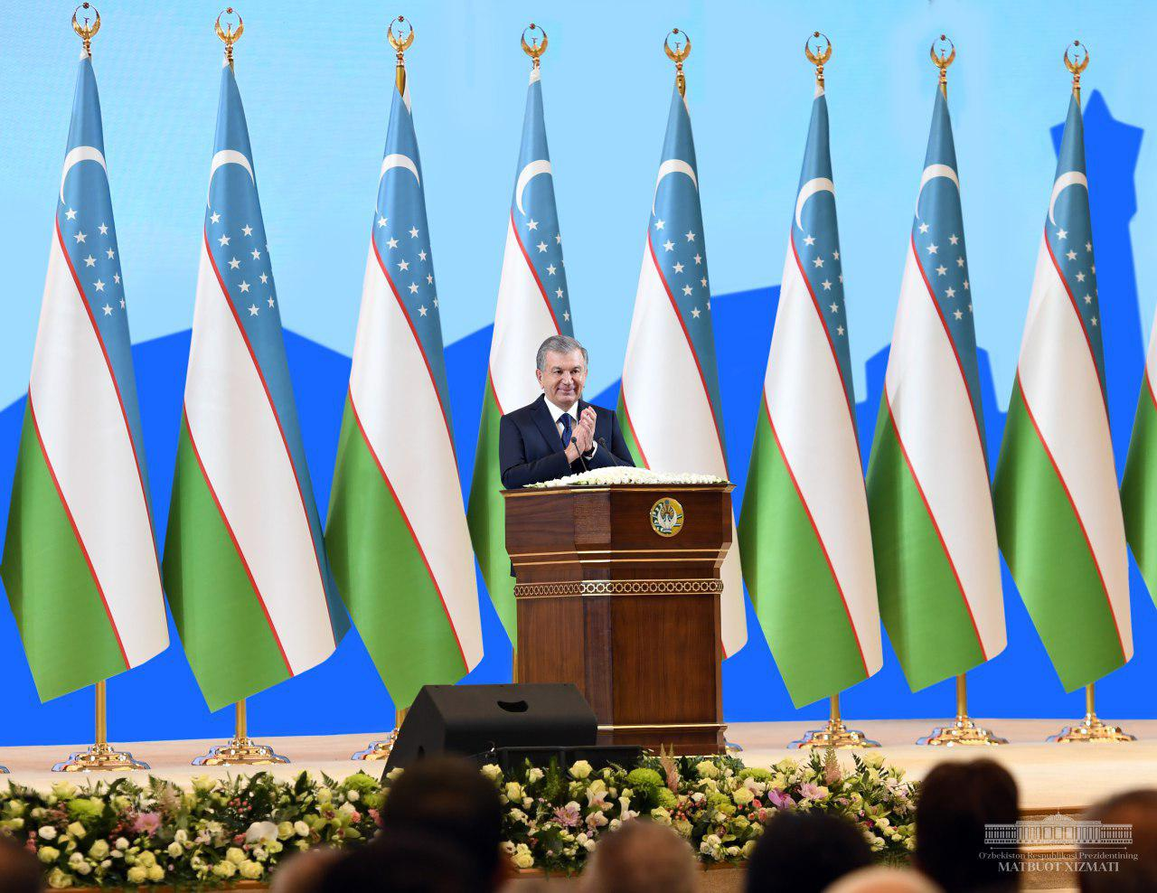 President Shavkat Mirziyoyev's speech at the festive event occasioned to the 30th anniversary of granting Uzbek the status of state language