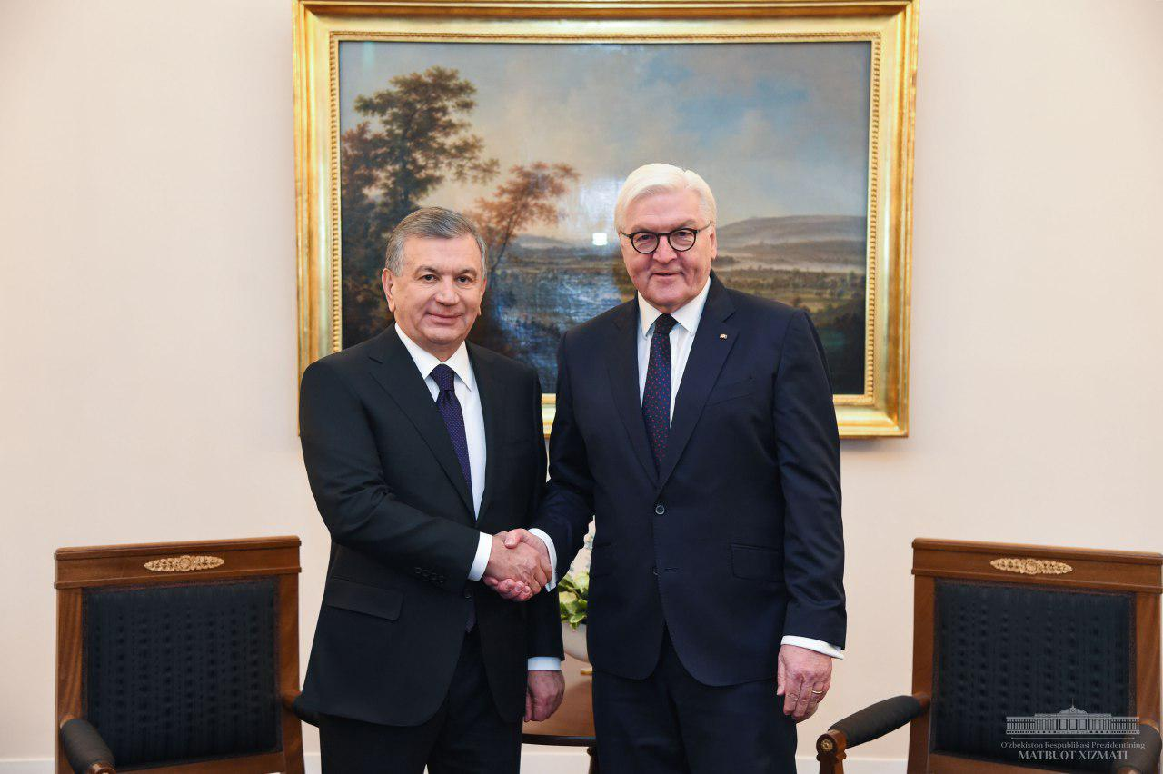 Negotiations kick off between the Presidents of Uzbekistan and Germany