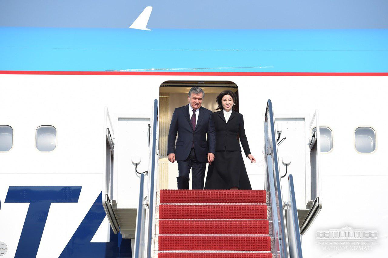 President of the Republic of Uzbekistan has arrived in the USA