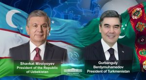 Leaders of Uzbekistan and Turkmenistan hold a telephone conversation