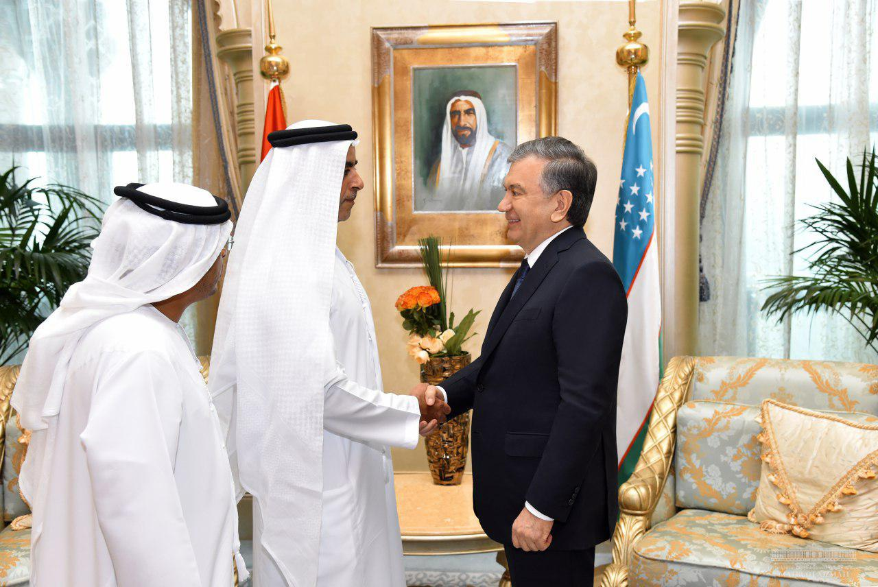 Head of State Receives UAE Deputy PM, Interior Minister