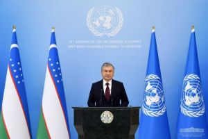 Speech by President Shavkat Mirziyoyev at the 75th session of the United Nations General Assembly